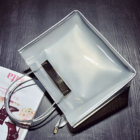 2016 Jelly lash bag European fashion female bag spring wire single shoulder bag handbag chain new trend Alibaba China