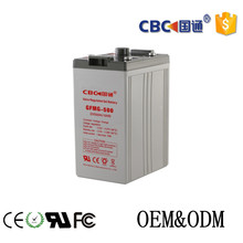 Wholesale solar storage battery 2v 500ah Gel battery