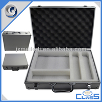 MLDGJ624 Silver Simple High-quality Aluminum Microphone Tool Case