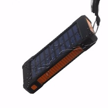 2018 New arrivals Fcc Rohs Power Bank20000Mah, Mobile Solar Charger Cell Phone, Solar Power Bank Charger
