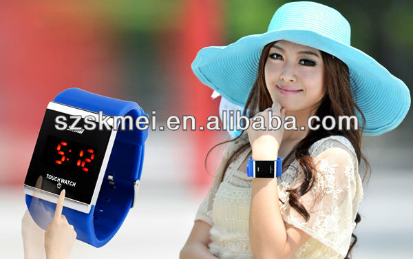 lady vogue led touch screen watches