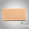 Hot sell nice quality apricot women fashion genuine leather brand name purse dropship paypal