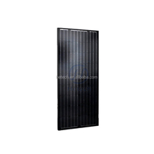 High efficiency long term warranty mono black color solar panels 120W