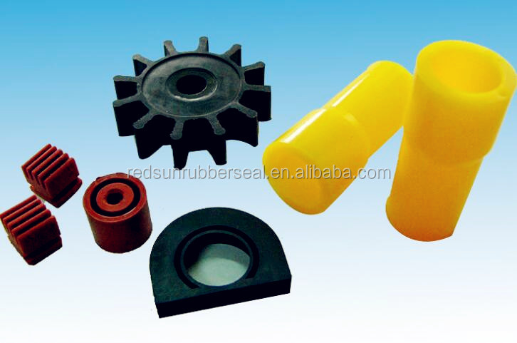 customized silicone rubber components