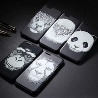 Animal faces series case cover for iphone 6