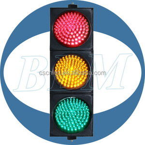 200mm ryg ball led traffic light remote control