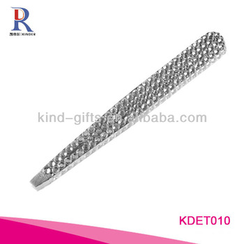 Professional Beautiful Girls Bling Crystal Crystal Tweezers Manufactory