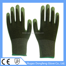 Made In China - Non Slip Crinkle Latex Rubber Bamboo Fiber Safety Equipment Work Gloves