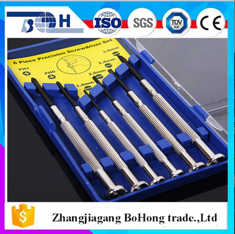 Wholesale multi eyeglass repair tools of mini precision screwdriver set