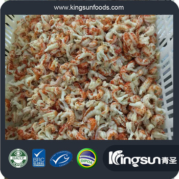 Cooked & Peeled Frozen whole round Procambarus Clark II Crayfish Crawfish in Great Flavor