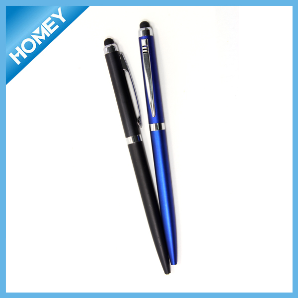 Imprinted Promotional plastic touch screen pen