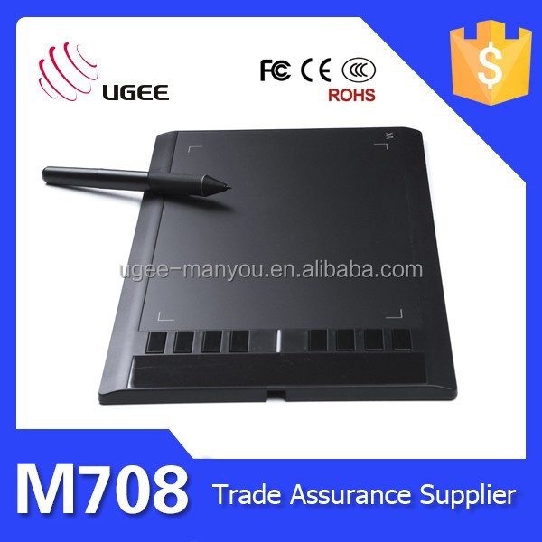 M708 2048 leverl 5080lpi UGEE interactive tablet