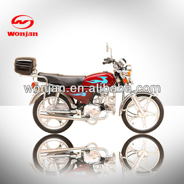 Low price 50cc street motorbike/hot selling motorcycles (WJ50)