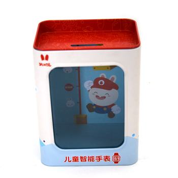 PVC Window Tin Box for Children Smart Watch