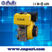 5hp 10 hp 12hp four stroke China single cylinder diesel engine