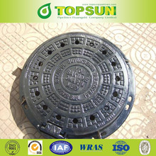 Ductile Iron Sewer Round Manhole Cover Cast Iron Manhole Cover