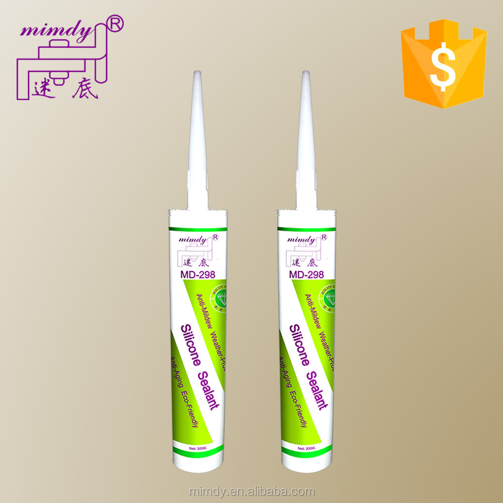 Glass acetoxy neutral silicone sealant
