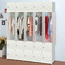 30 cubes white modern assembled closet wardrobe almirah kitchen cabinet