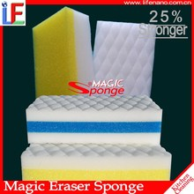 Factory direct supply hot selling disposable kitchen cleaning compressed sponge non-abrasive scouring pad sponge raw material