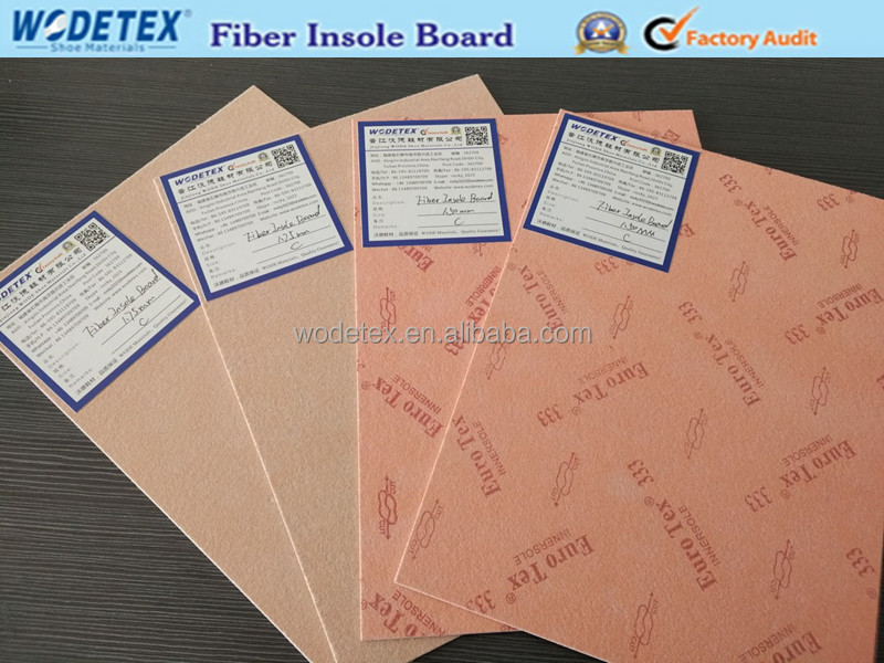 Variety type insole shoe fiber nonwoven board
