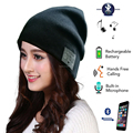 Bluetooth Hat Music Beanie Cap Bluetooth V4.1 Stereo wireless earphone Speaker Microphone Handsfree