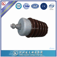 high voltage cap and pin insulator