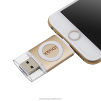 New 8GB 16GB 32GB 64GB USB Flash Drive U Disk OTG Memory Stick For iPhone and iPad for iPod