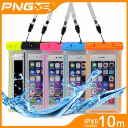 PNGXE wholesale IPX8 pvc universal mobile phone waterproof bag