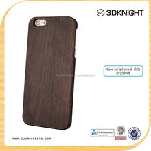 2015 the hot sale phone case ,custom walnut wood For Apple Iphone 6 plus