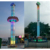 Outdoor Theme Parks Adults Fairground Machinery Rotary Tower Rides
