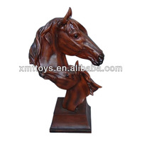 mini horse figurine,resin home decoration