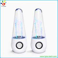 2016 Hotsell gift big large dancing water fountain speakers with LED flash function
