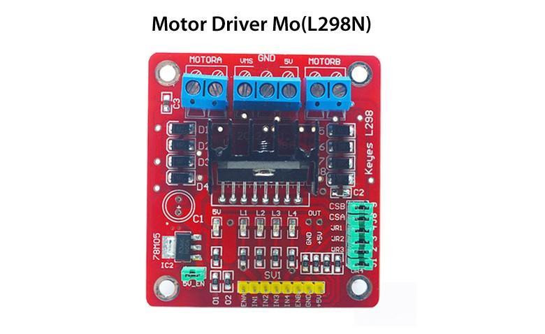 Arduino教程L298驱动直流电机