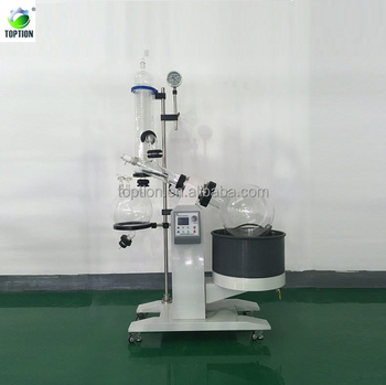 TOPTION New Type Rotary Evaporator 10-100L with bottom wheels