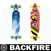 Backfire 2013 the new 7ply graphics design skateboard