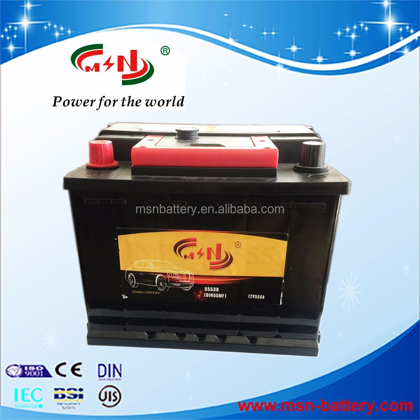 EFB AGM battery 12V MF for ignition