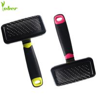 OEM Logo Pet Hair Remover Dog Brush