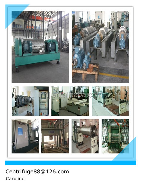 LW420 model sludge dewatering machine for printing and dyeing paper