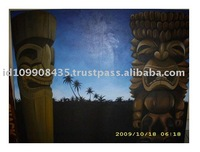 Tiki native decor Paintings