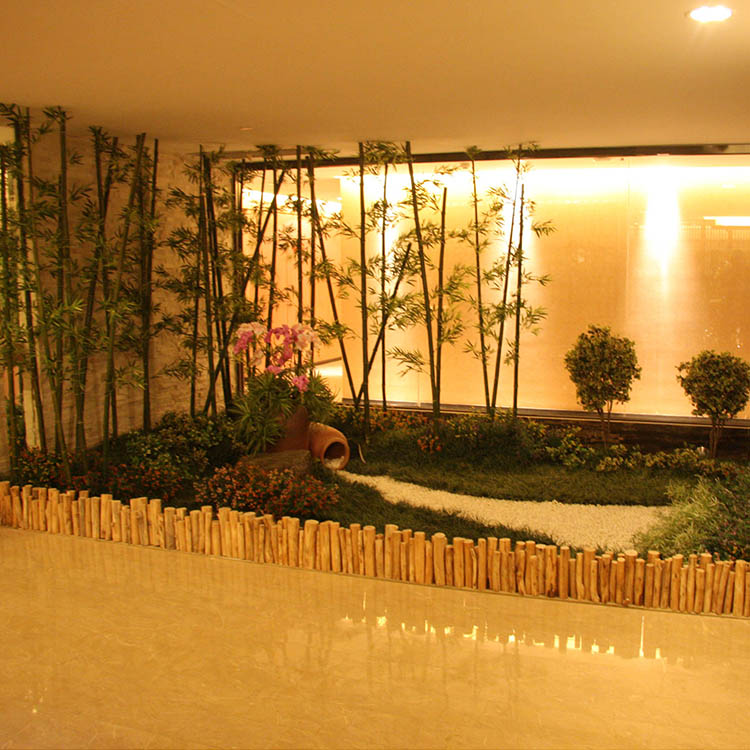 Landscape Artificial Bamboos Tree For Garden Ornaments