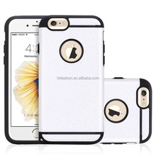 Lastest Products For 2017 Plastic And Silicone Mobile Case Covers For Apple Iphone 6s Phone Accessories
