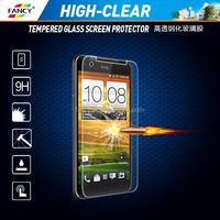 Mobile Phone Accessories Wholesale Best 2.5D 9H Hardness H]igh clear Tempered Glass Screen Protector For HTC Butterfly