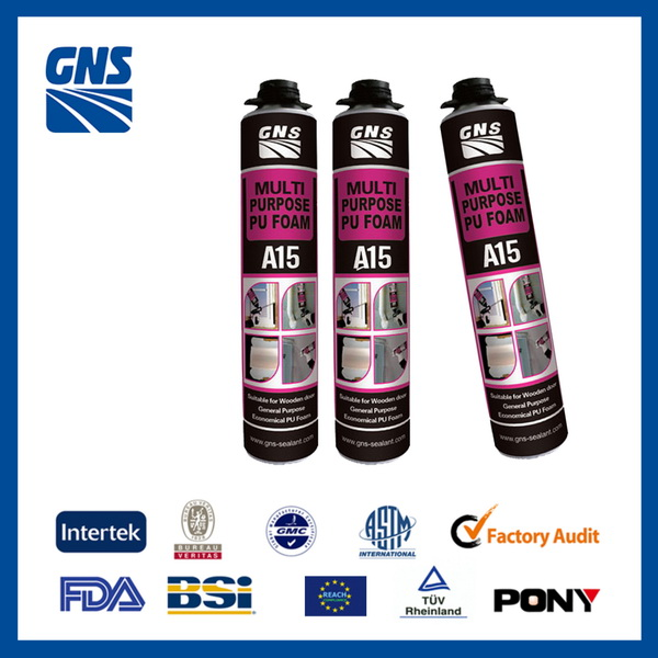 polyurethane foam sealant quick cure car wash foam spray