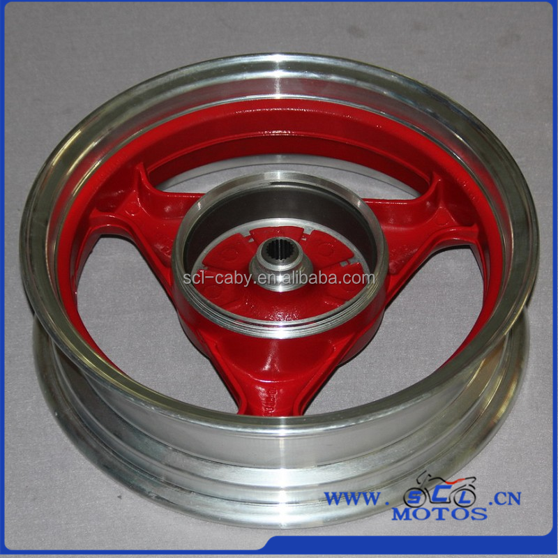 SCL-2012030606 GY6 New Design Motorcycle Aluminum Alloy Wheel With Top Quality Alloy Wheels For Motorcycles