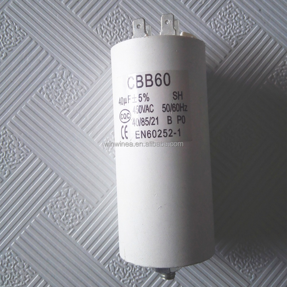 Facon ac motor capacitor 450vac 40uF air conditioner spare parts on sale