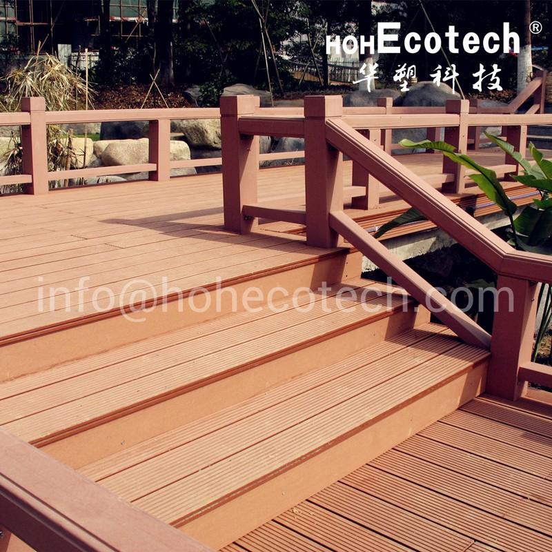 Recycled material waterproof wpc decking floor buy wpc for Recycled decking material