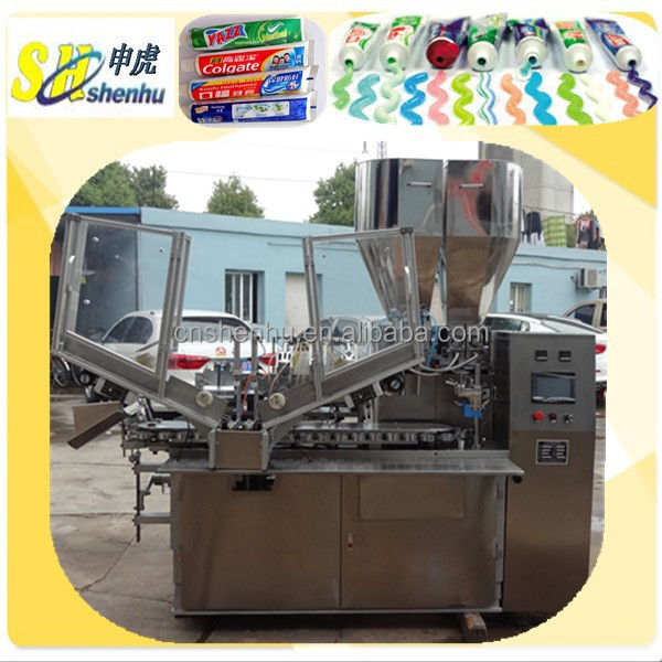 Automatic Plastic Toothpaste, Cleansing Milks Tube Filling and Sealing Machine with CE Certificate