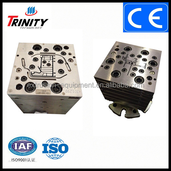 China made Trinity high presicion mould for plastic profiles