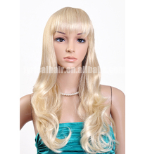 Factory Price Clip In Bang Fringe Wig Synthetic Wig