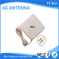 Long range good signal white 35dbi panel 4g antenna for Huawei modem